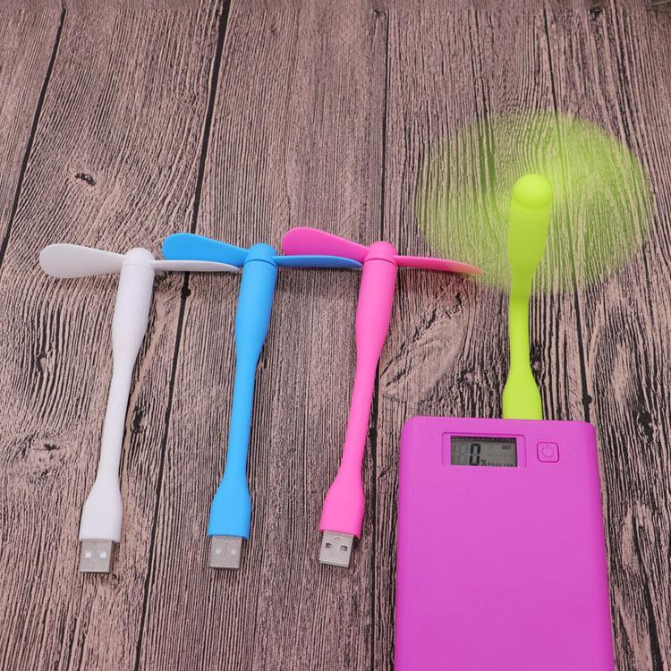 Hình ảnh Quạt Mini USB 2 cánh cho điện thoại, sạc di động, laptop, máy tính (Màu được giao ngẫu nhiên)