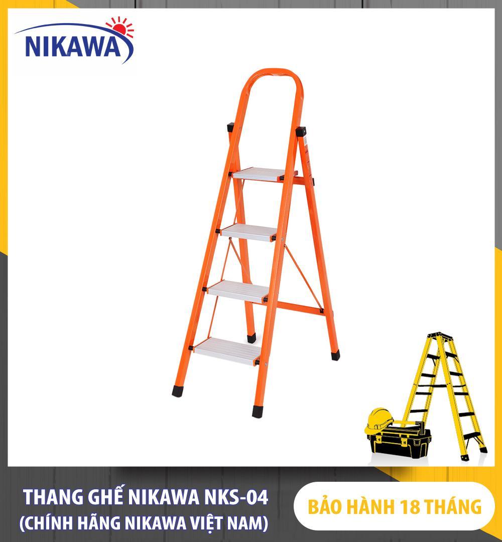 Thang Ghế Nikawa NKS-04 - 4 Bậc - 92cm