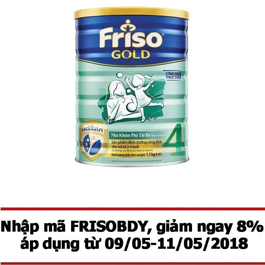 Bán Sữa Bột Friso Gold 4 1500G Nhập Khẩu