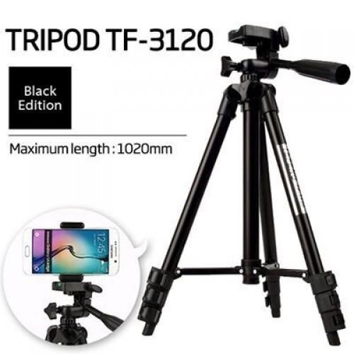 Hình ảnh Gậy chụp hình Tripod 3120 kèm giá đỡ điện thoại