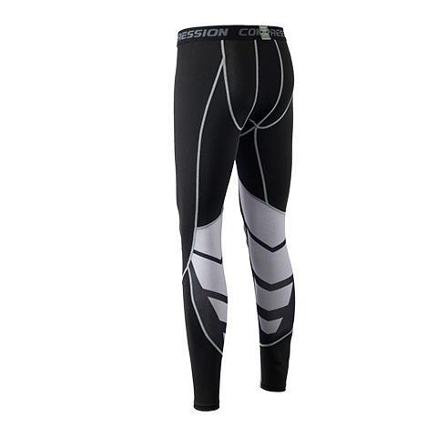 Celana Olahraga Pria Latihan Ketat Elastis Tinggi (1607 celana panjang)