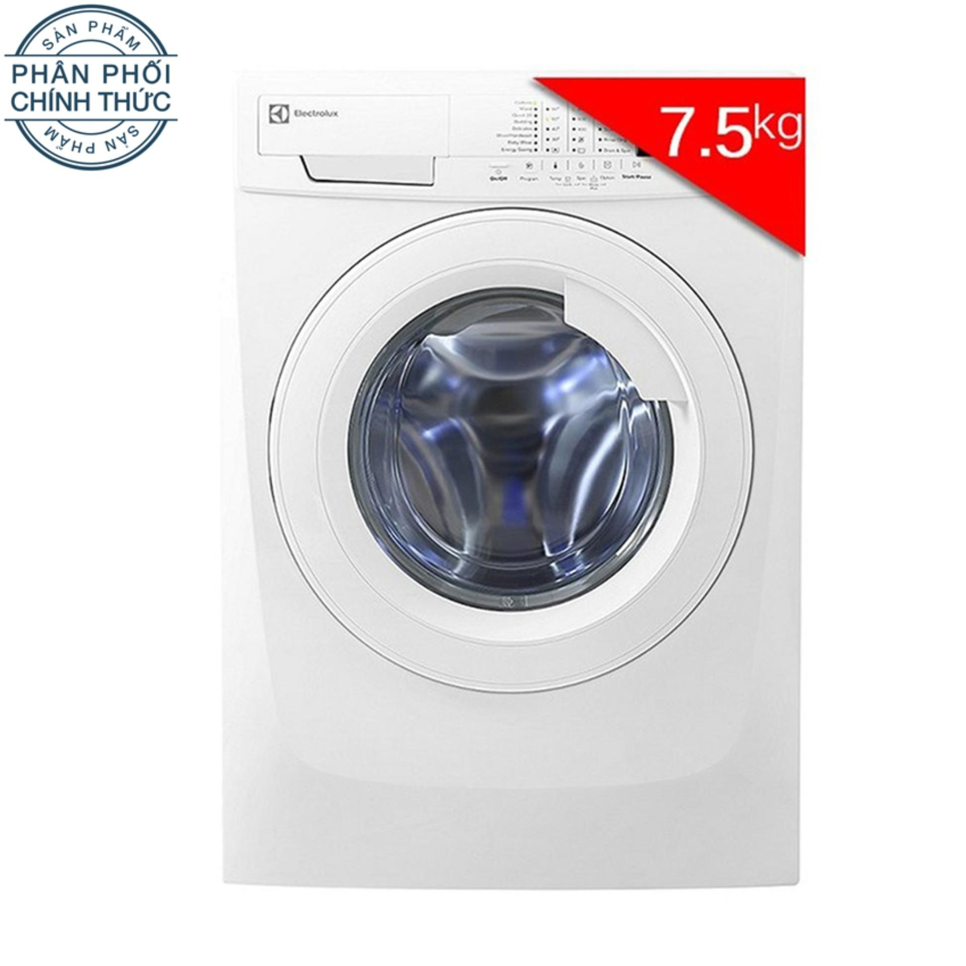 Cửa Hàng May Giặt Cửa Trước Electrolux Ewf85743 7 5Kg Trắng Trực Tuyến