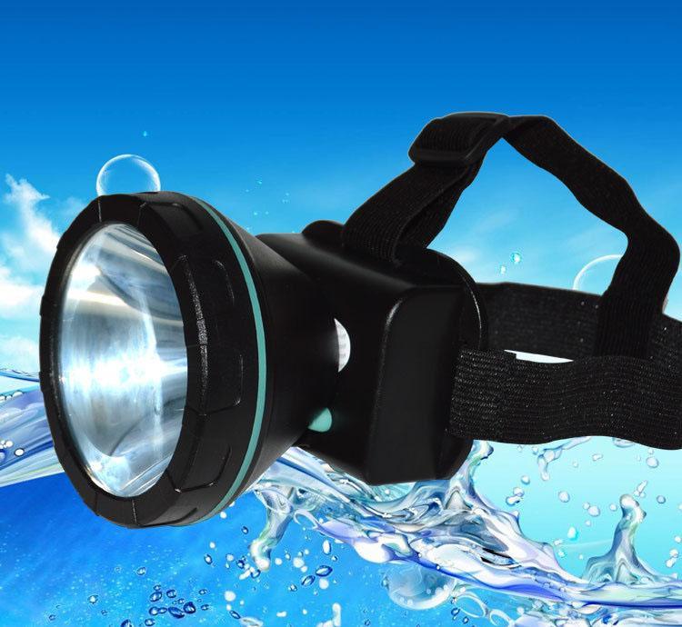 Hình ảnh Đèn pin đội đầu dạng led chống nước
