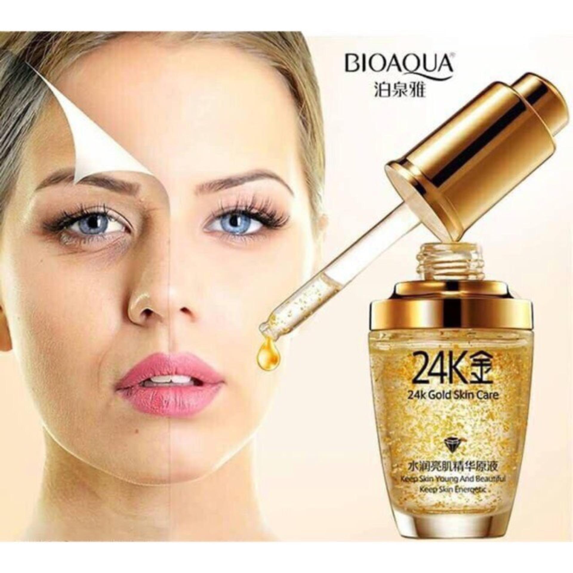 Hình ảnh SERUM 24K GOLD - Tinh chất dưỡng da chuyên sâu trắng da và chống lão hóa Bioaqua