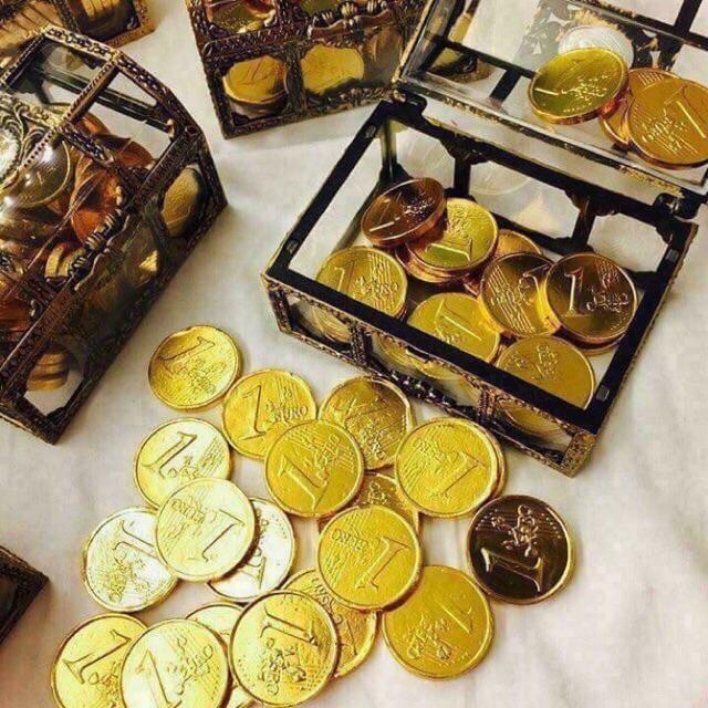 Hình ảnh Rương vàng socola Thái Lan