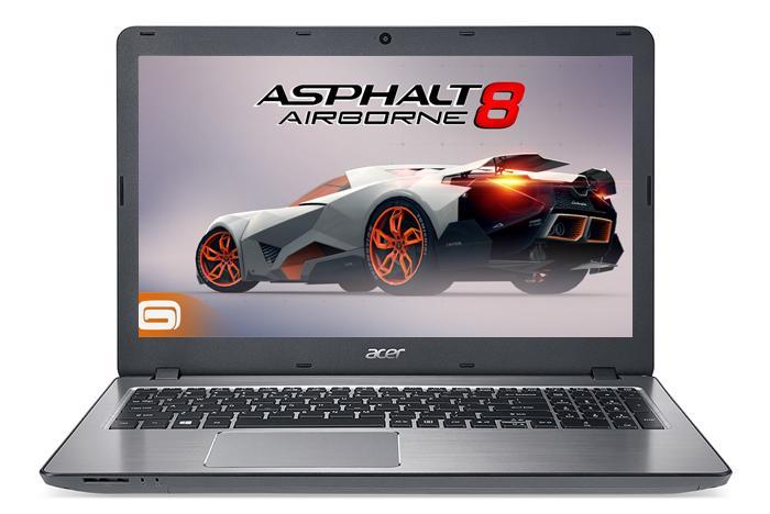 Laptop Acer F5-573G-55PJ Kabylake VGA 2GB ALU (màu bạc)