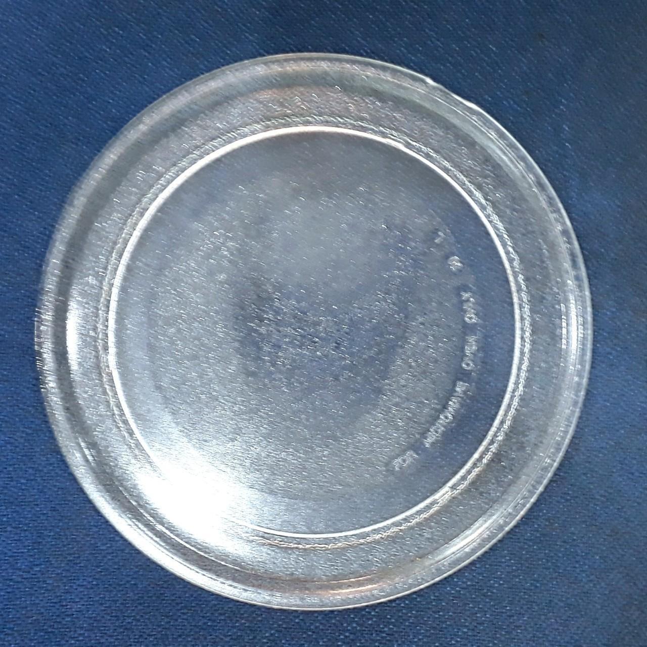 Hình ảnh Đĩa lò vi sóng loại không mấu ĐK 24.5cm (Linh kiện thay thê)