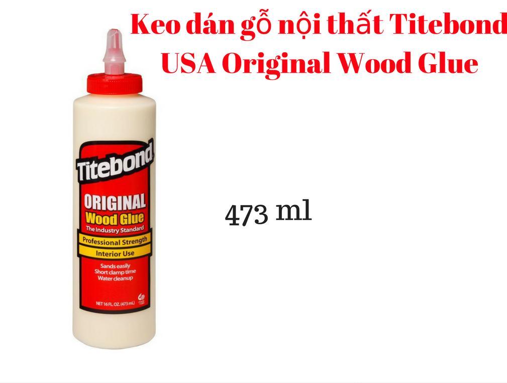 Hình ảnh Keo dán gỗ nội thất Titebond Original Wood Glue 473ml