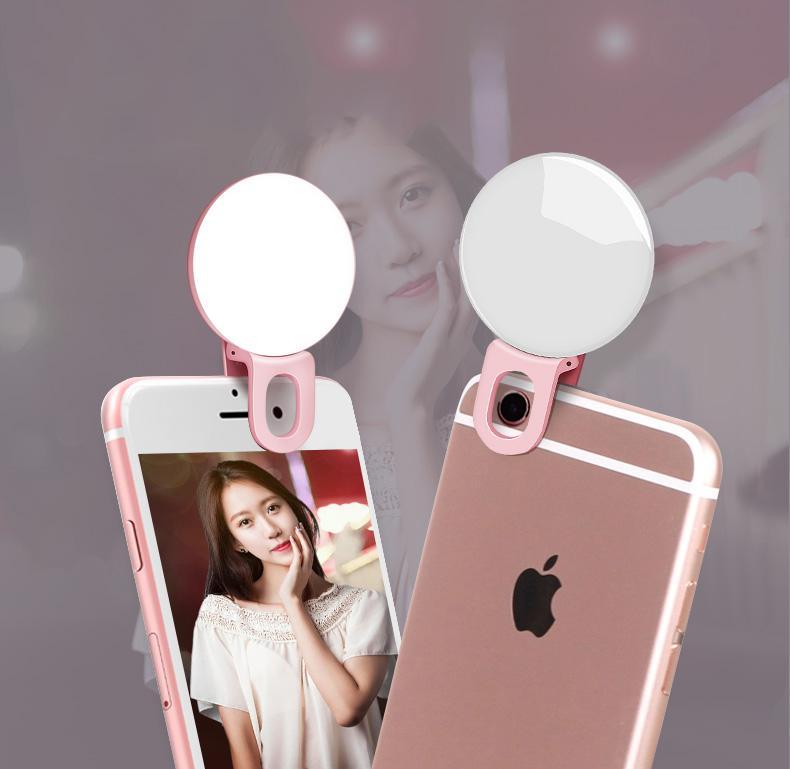 Hình ảnh Đèn selfie Ring light cho điện thoại tặng kèm dây sạc ( loại xịn ) + Tặng thẻ tích điểm