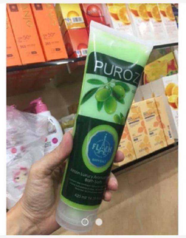 Muối Tắm Tẩy Thâm PUROZ nhập khẩu Pháp nhập khẩu