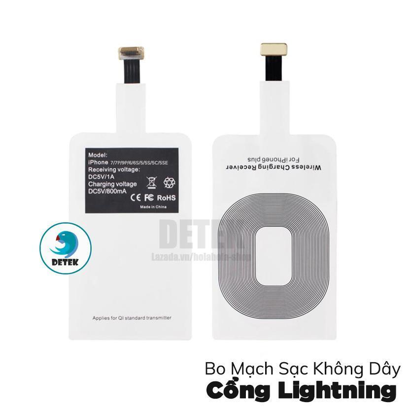 Bo mạch sạc không dây cho cổng Lightning của điện thoại iPhone-samsung-oppo-htc.....