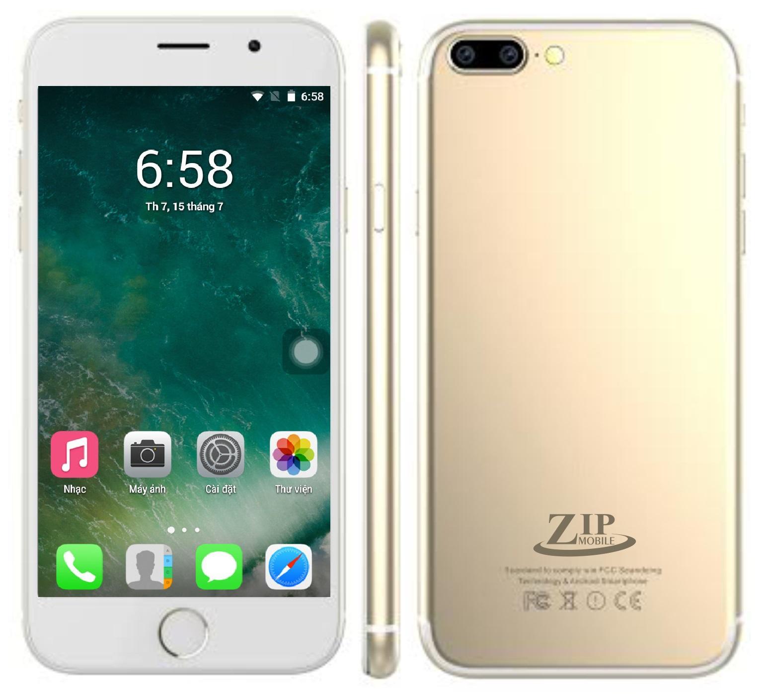 Hình ảnh Điện thoại ZIP8 - Hàng Chính Hãng - Bảo Hành 12 Tháng - Tặng ốp lưng