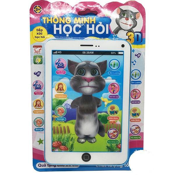 Hình ảnh Vỉ đồ chơi Ipad mèo Tom Cat 3D thông minh dùng pin có nhạc