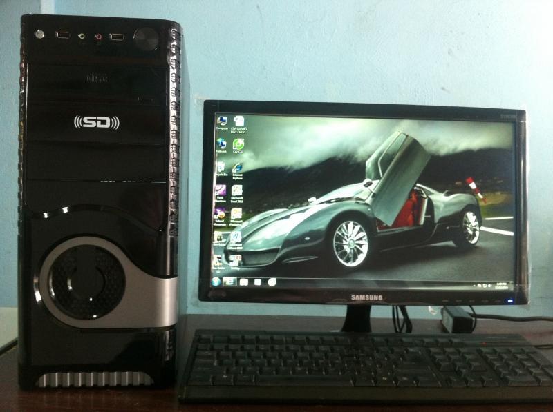 Hình ảnh Trọn Bộ Máy Tính Chip G2020 .RAM 4G.Ổ Cứng 250G.VGA Rời 2G. LCD 20in Led