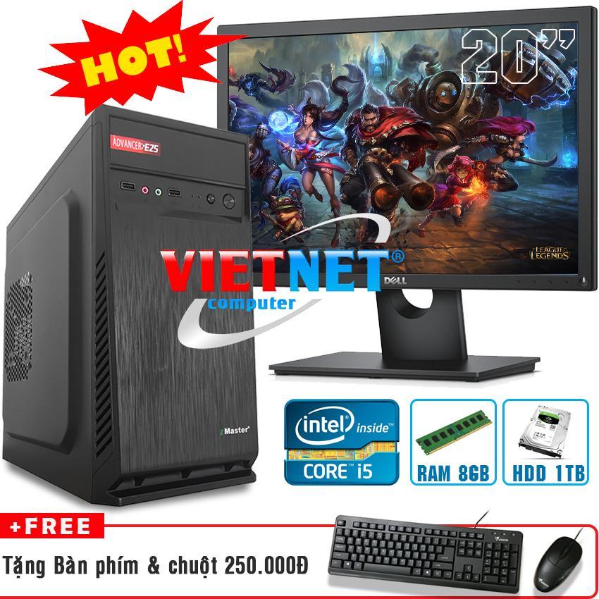 Hình ảnh Máy tính bộ game intel i5 2400 RAM 8GB HDD 1TB + LCD Dell 20 inch model 2016-2017