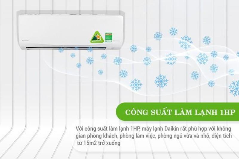 Bảng giá Máy Lạnh Inverter Daikin FTKQ25SVMV (1Hp)