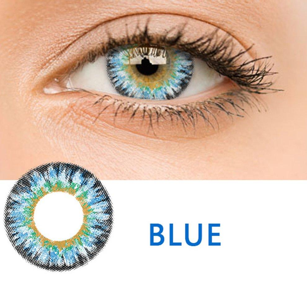 Popo Fashion Color Contact Lens With Diamond Sweety Pattern Cosmetic Contact Lenses By Bulapopo.