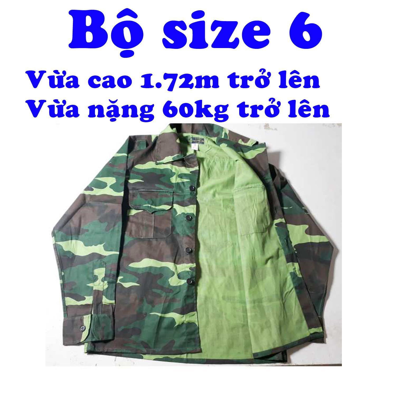 Bộ quần áo bộ đội dàn di số 6