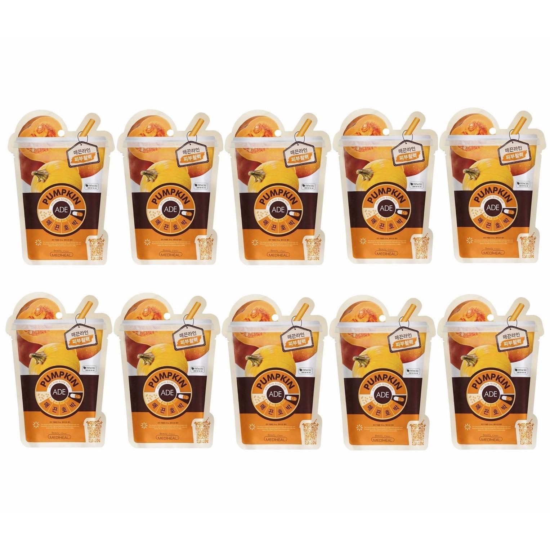 Bán Bộ 10 Goi Mặt Nạ Chiết Xuất Bi Ngo Mediheal Pumpkin Ade Mask 25Ml X10 Có Thương Hiệu Nguyên