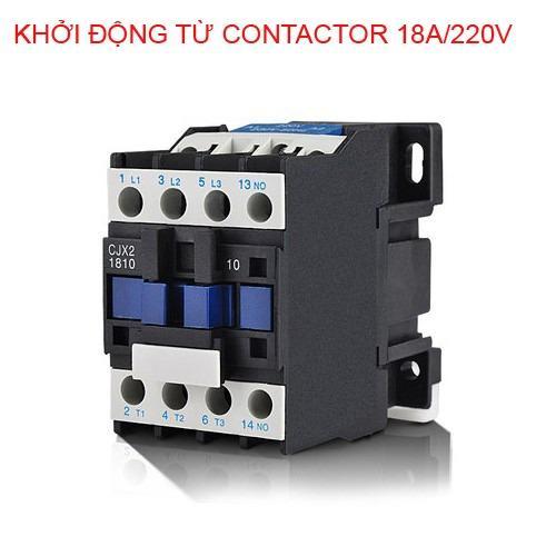 Hình ảnh Khởi động từ contactor 18A/220V