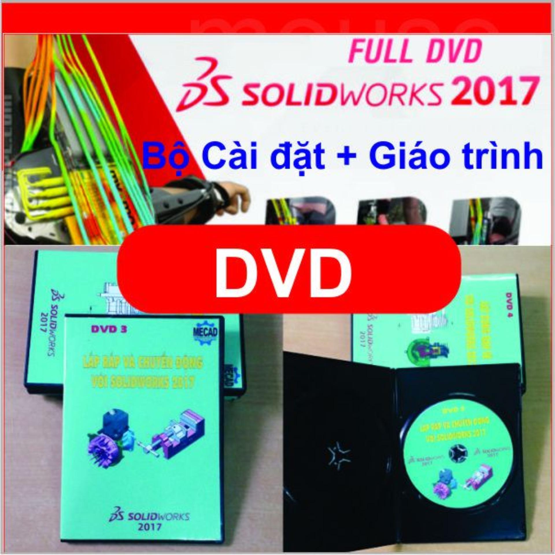 Hình ảnh Bộ DVD Solidworks 2017