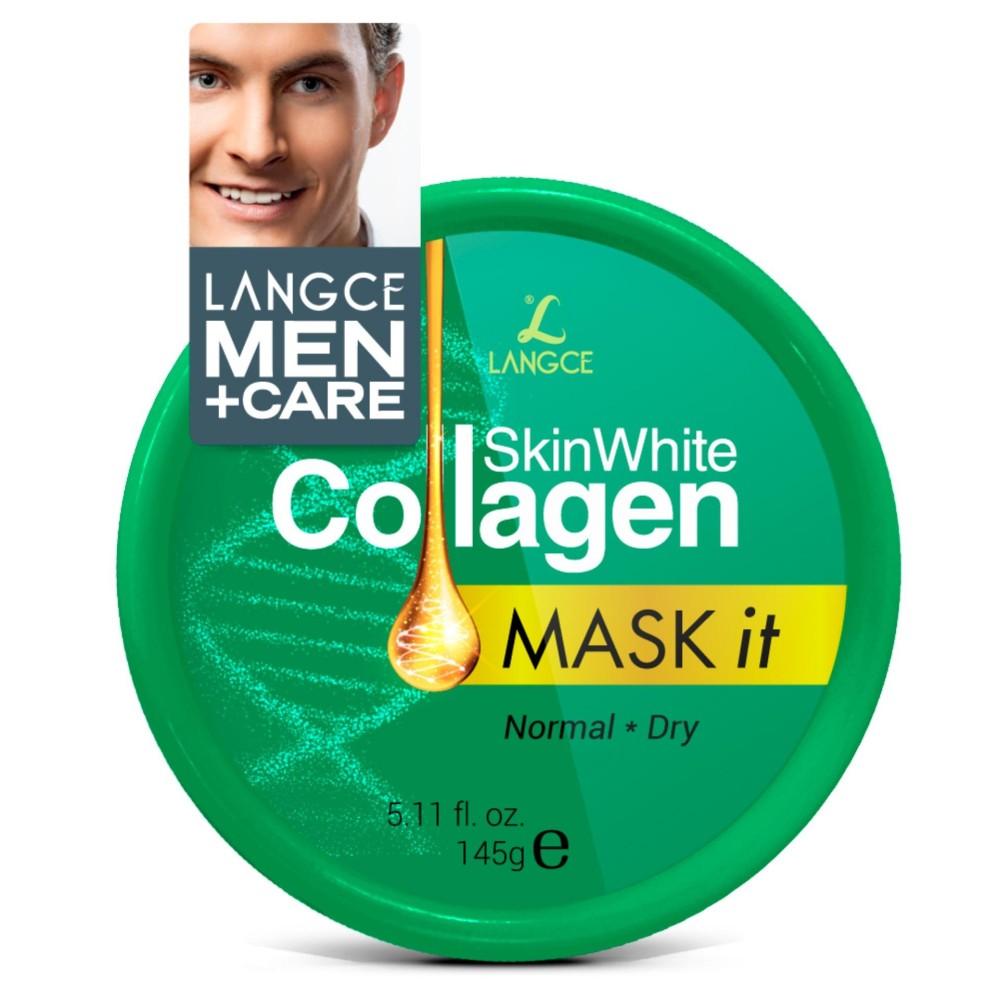 Giá Bán Mặt Nạ Dưỡng Trắng Đẹp Da Collagen Da Nhờn 145G Langce Danh Cho Nam Rẻ