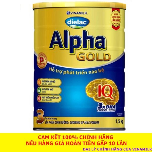 Cửa Hàng Sữa Bột Dielac Alpha Gold 3 1 5Kg Date 02 2020 Rẻ Nhất