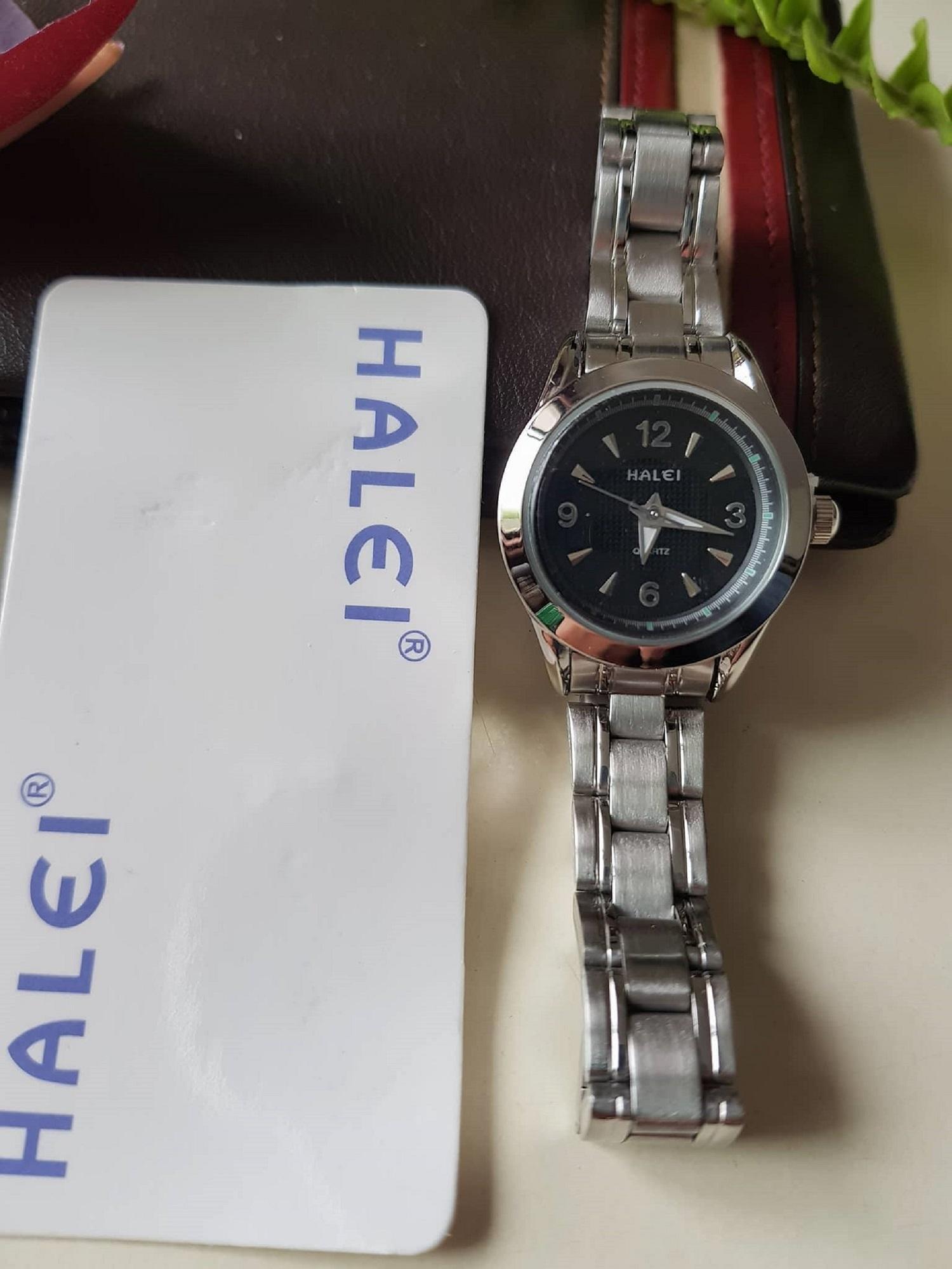 Đồng Hồ Halei Nữ Mặt Nhỏ Quý Phai Ảnh Thật No Brand Hàn Quốc Chiết Khấu 40