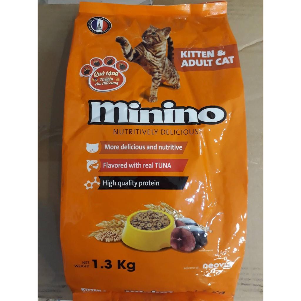 Combo 3 Goi Thức Ăn Cho Meo Minino Ca Ngừ Của Phap 1 3Kg Chiết Khấu Hồ Chí Minh