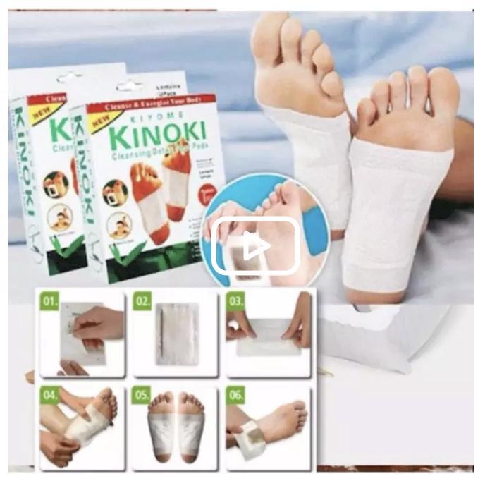 Bộ 20 miếng dán giải độc massage chân Kinoki nhập khẩu