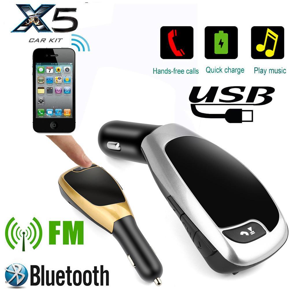 Sophiadeals Bt X5a Wireless Bluetooth Lcd Mp3 Player Car Kit Sd Mmc Baru  Modul Fm Usb