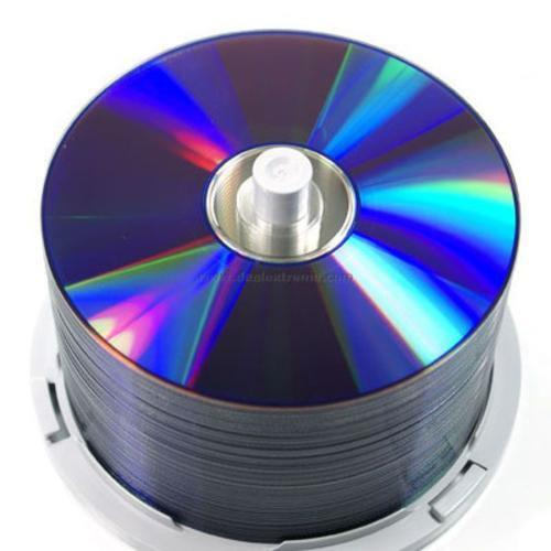 Hình ảnh Đĩa trắng DVD RISHENG IN trên mặt đĩa hộp 50 cái tặng 1 CÂY BÚT GHI ĐĨA