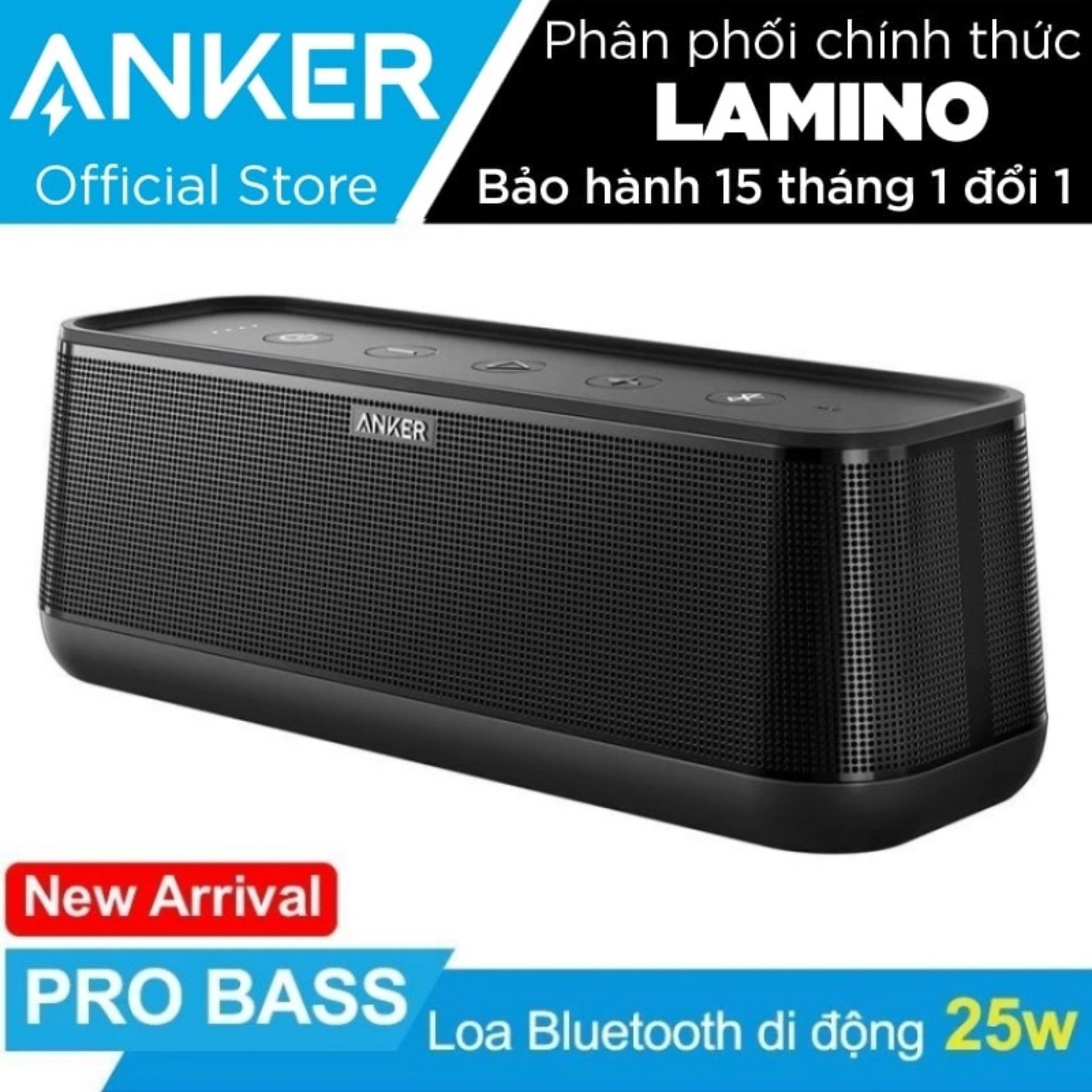 Bán Loa Bluetooth Di Động Anker Soundcore Pro 25W Hang Phan Phối Chinh Thức Có Thương Hiệu Nguyên
