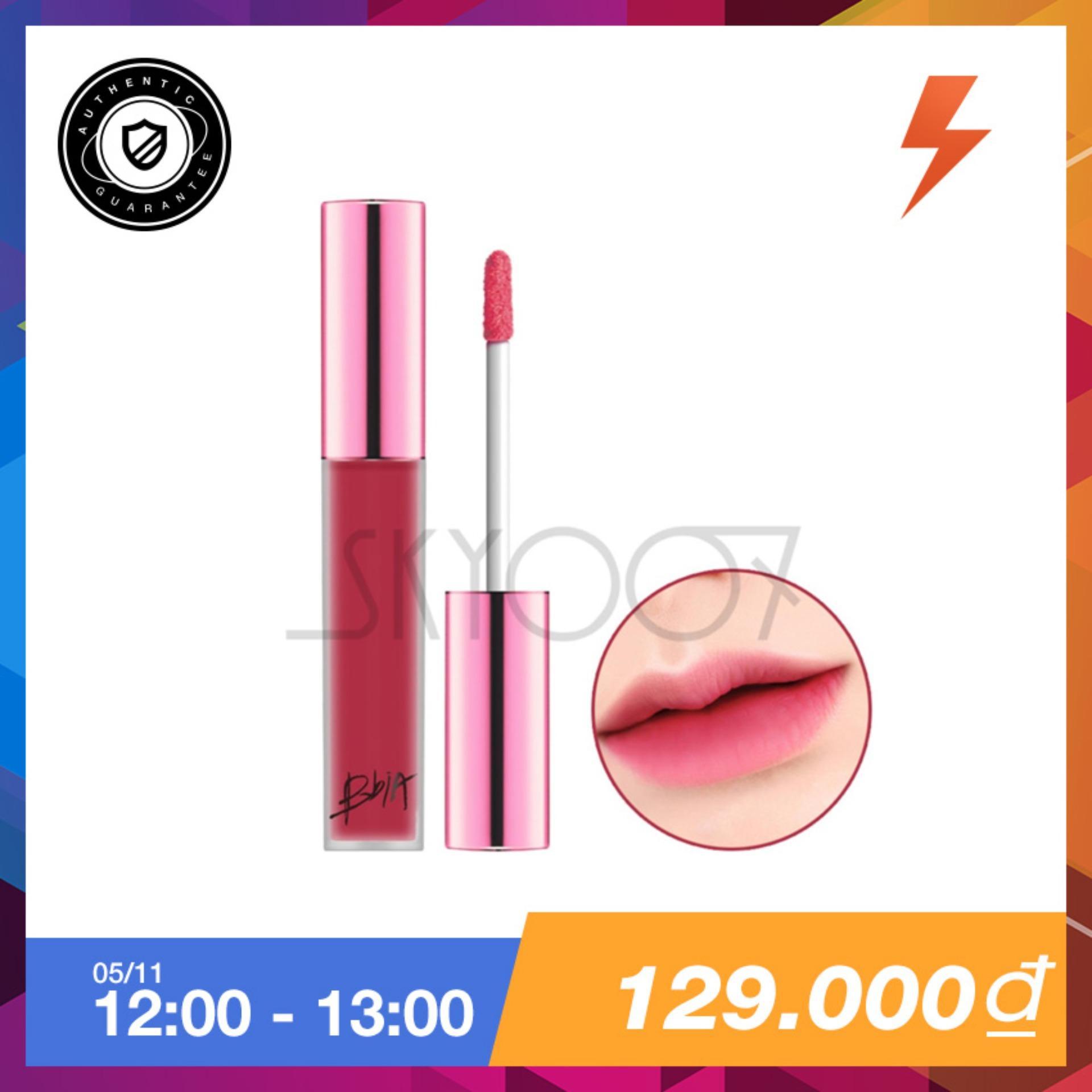 Giá Bán Son Kem Li Sieu Lau Troi Bbia Last Velvet Lip Tint Version 2 09 Rose Attack Mau Hồng Đất Bbia Nguyên