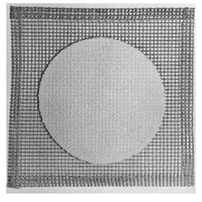 Lưới Amiang cách nhiệt, kích thước 15x15cm nhập khẩu