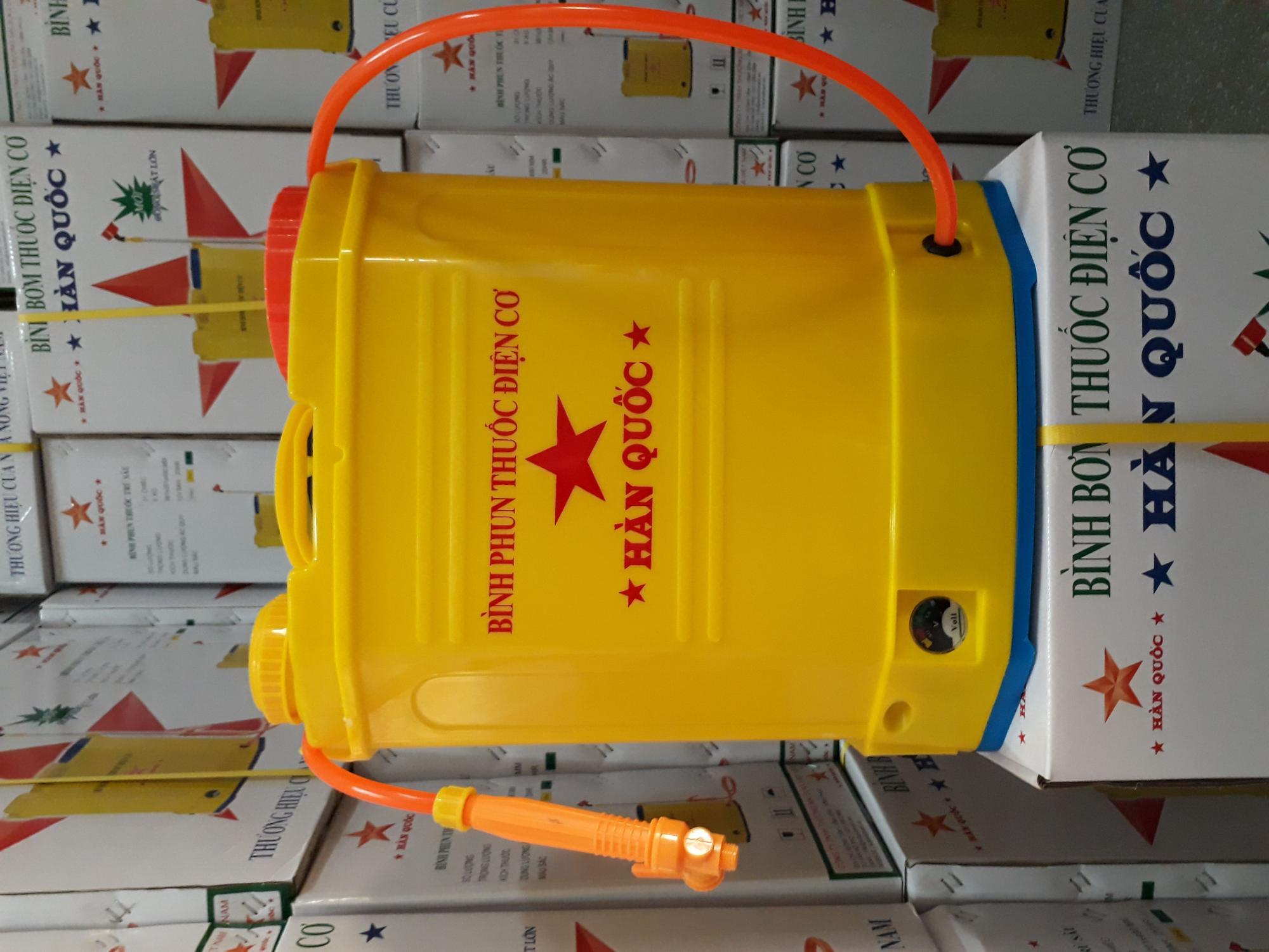 Hình ảnh Bình phun thuốc trừ sâu HÀN QUỐC - Bình bơm - Máy bơm mini 12v