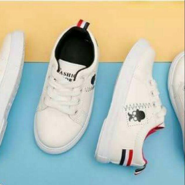 Giày học sinh trắng đẹp cao cấp Nhật Bản