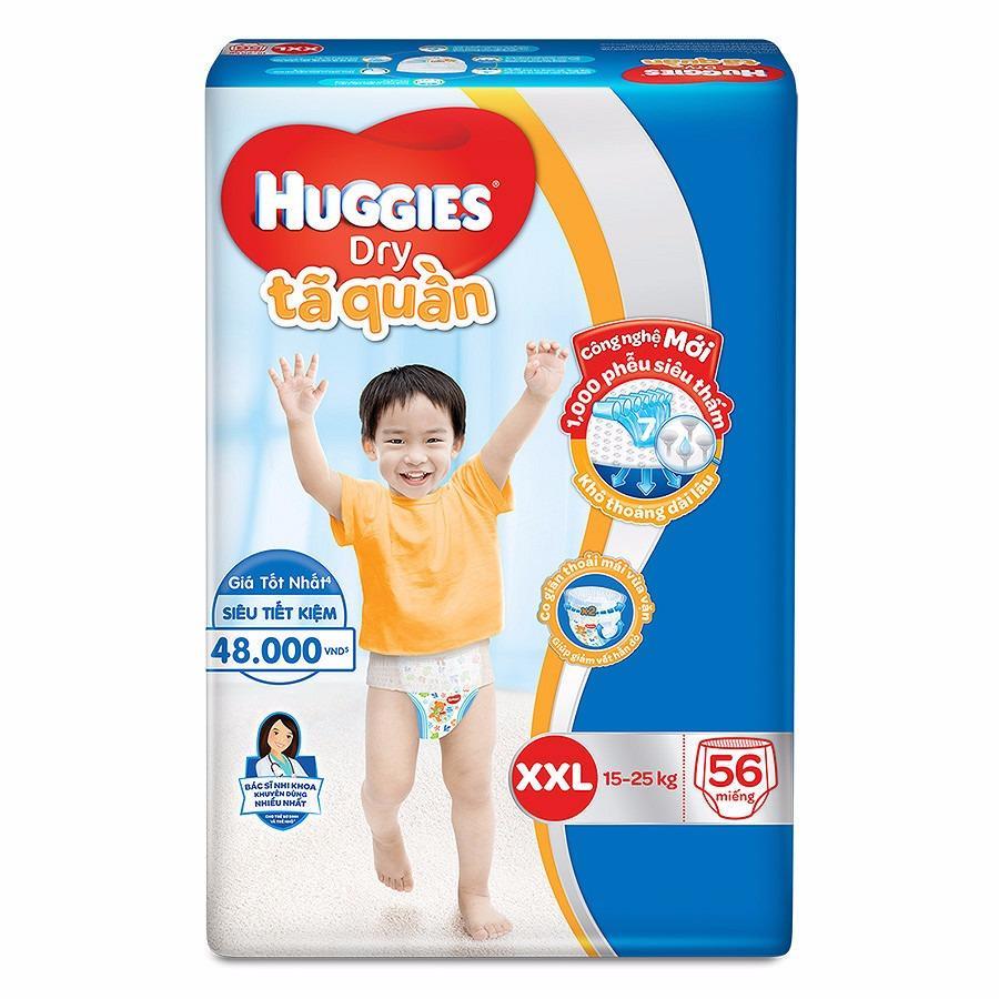 Mua Ta Quần Huggies Dry Super Jumbo Xxl56 Huggies Rẻ