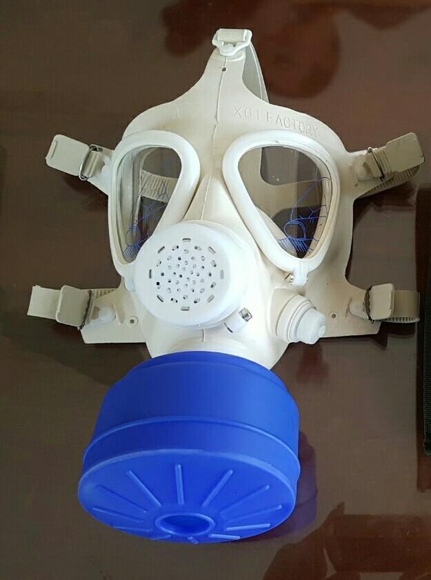 Hình ảnh Mặt nạ chống khói độc khi xảy ra hỏa hoạn (mặt nạ phòng độc /mặt nạ phòng hỏa hoạn, cháy nổ) V5