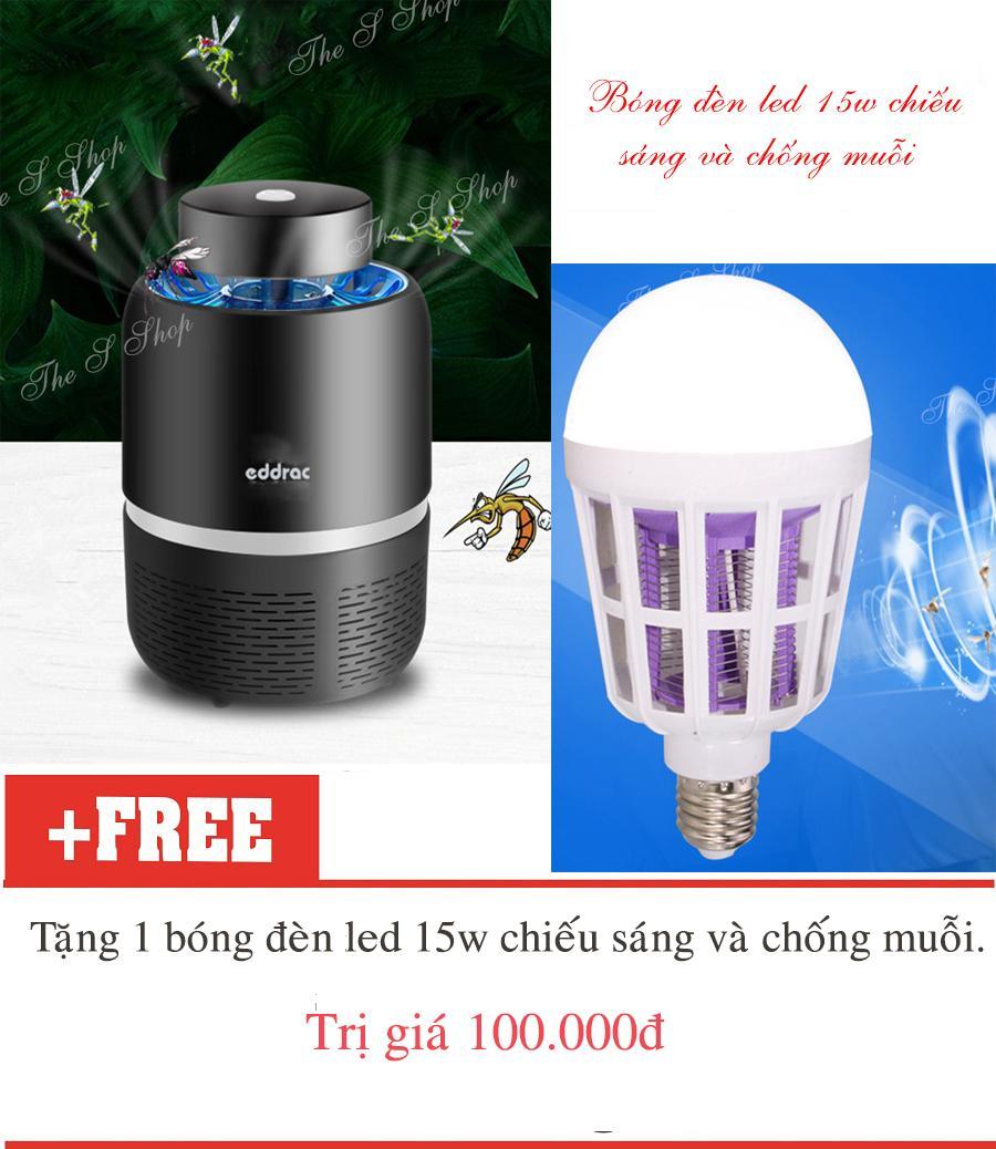 Máy bắt muỗi và diệt côn trùng tia UV Eddrac (Hàng chất lượng cao KHÔNG Giá Rẻ)