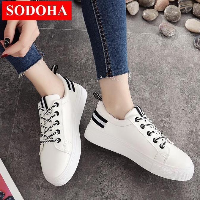 Hình ảnh Giày Sneaker Nữ Thời Trang SODOHA SNN03-68BW