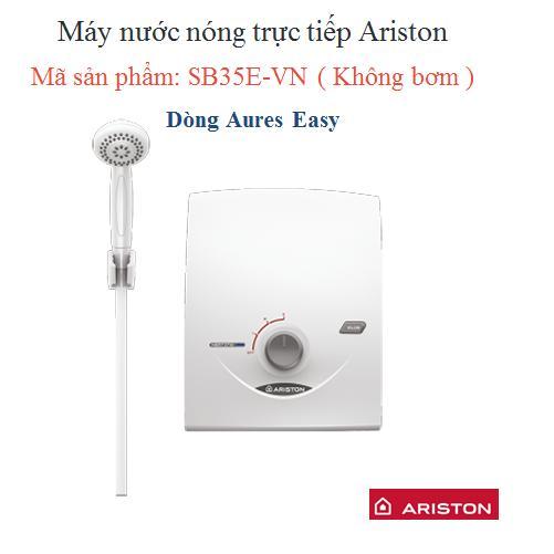 Hình ảnh Máy nước nóng Ariston SB35E-VN (Trắng)