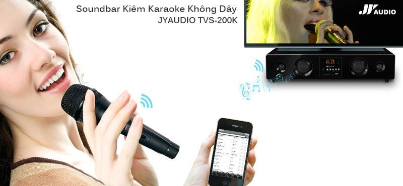 soundbar karaoke tv jyaudio tvs-200k