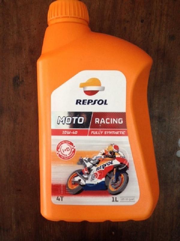 Chiết Khấu Nhớt Repsol Moto Racing 10W 40 1L Repsol Trong Việt Nam