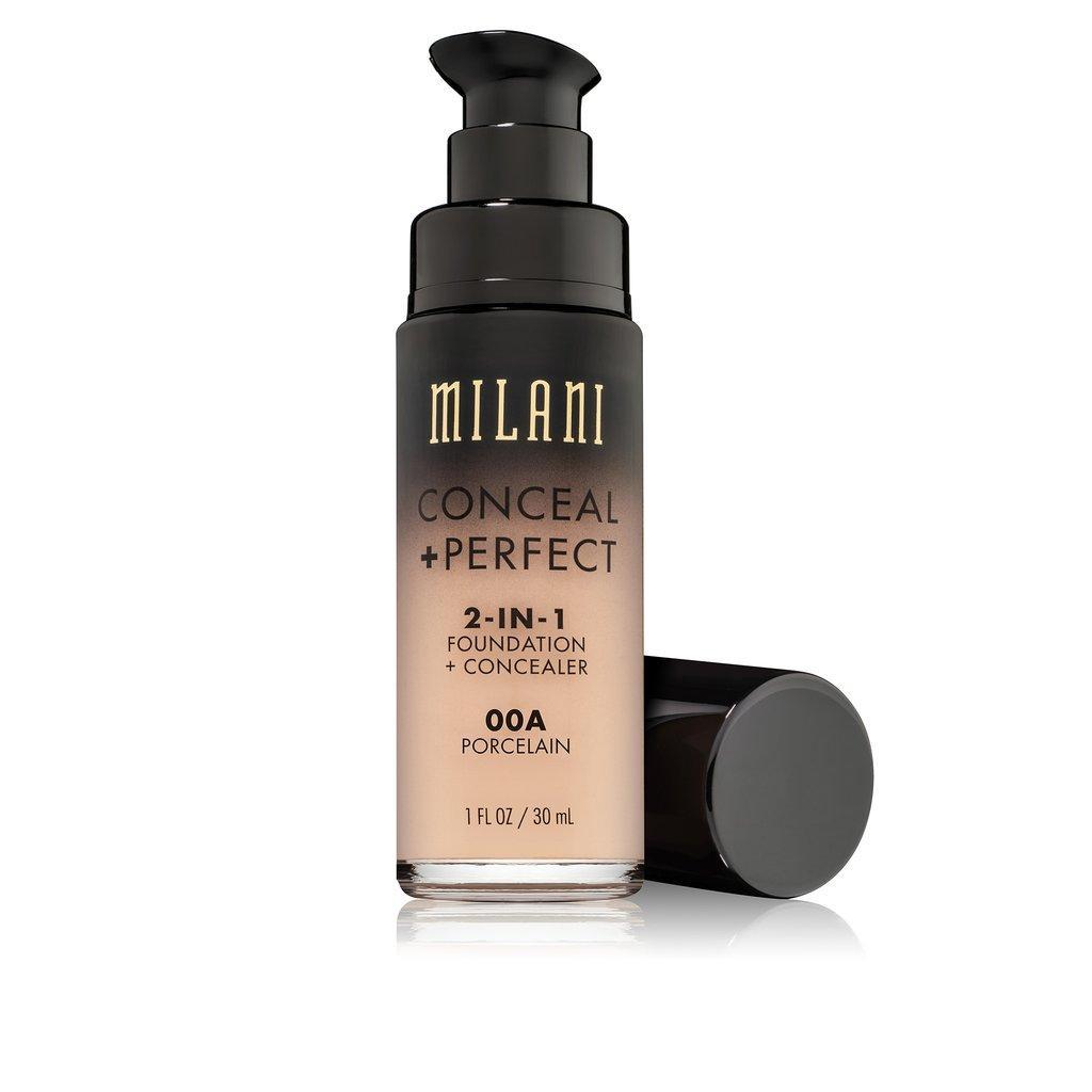 Hình ảnh Kem Nền Milani CONCEAL + PERFECT 2 In 1 Foundation + Concealer (30ml)
