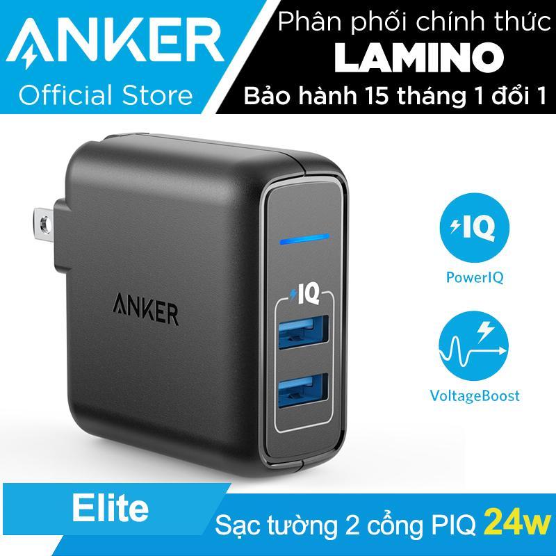 Cửa Hàng Sạc Anker Powerport Elite 2 Cổng 24W Hang Phan Phối Chinh Thức Hồ Chí Minh