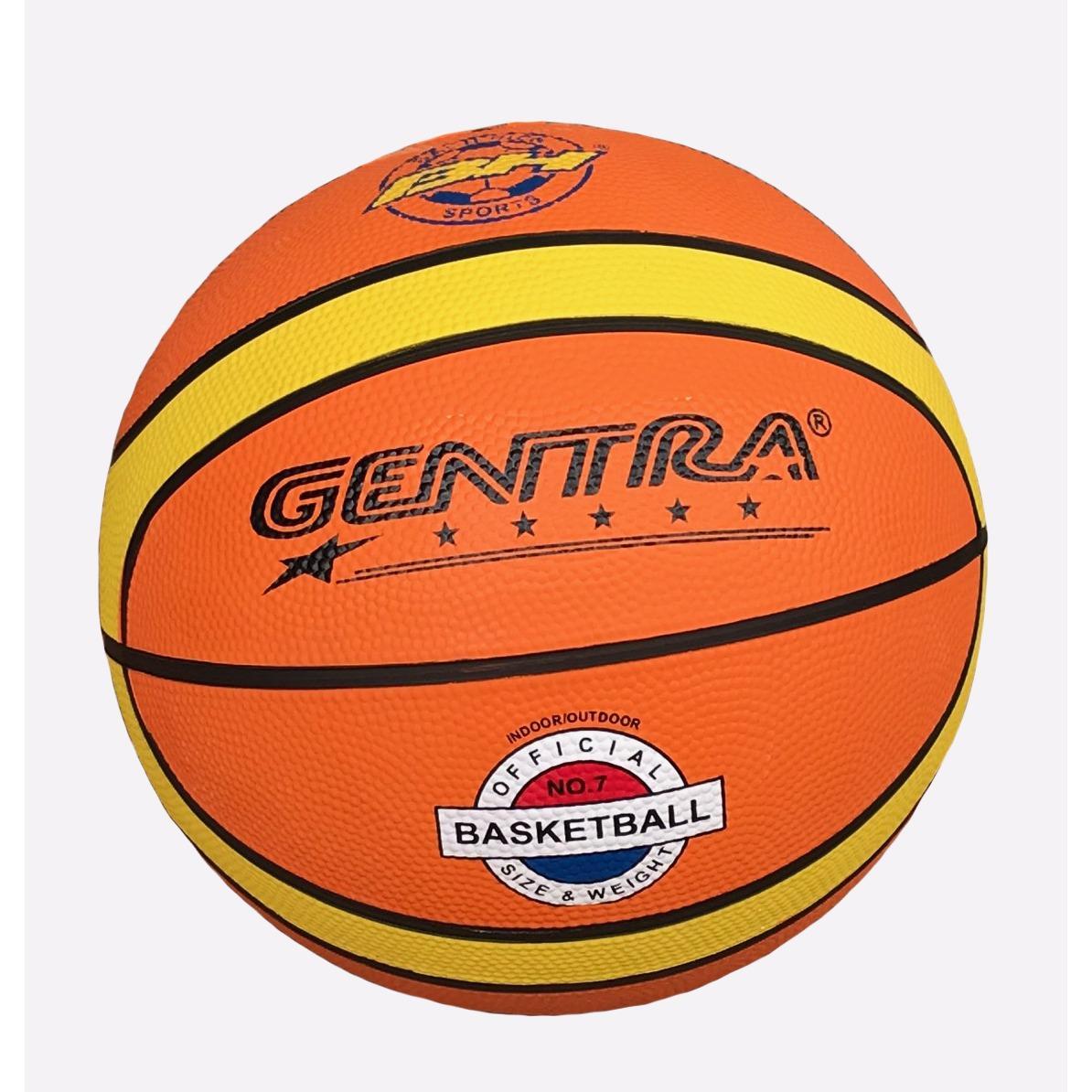 Hình ảnh Quả bóng rổ số 7 Gentra (Cam) + Tặng kim bơm bóng