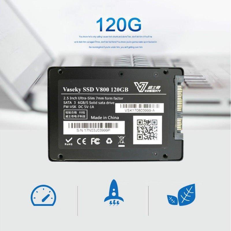 Hình ảnh Ổ cứng Vaseky V800 Solid station driver SSD 120gb 2.5 inch