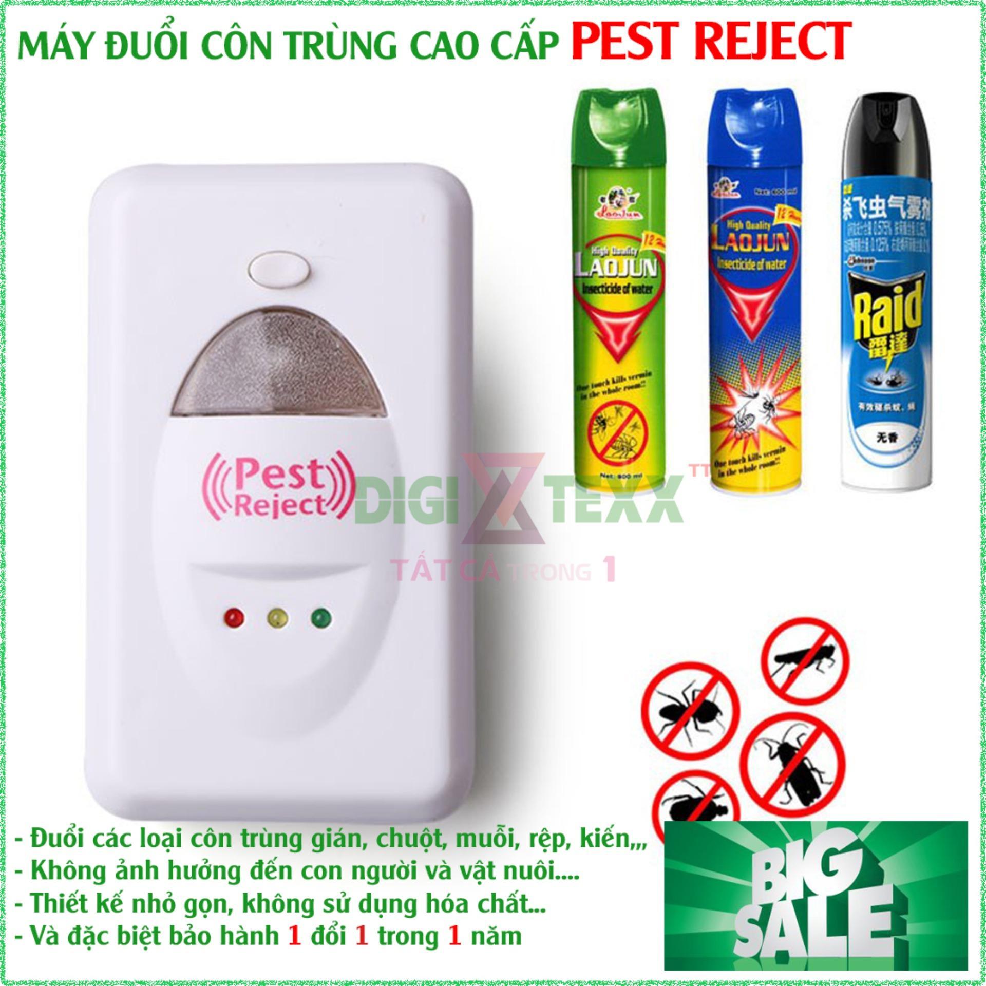 May Duoi Chuot Pest Reject , Máy Đuổi Côn Trùng Loại Tốt, Sử Dụng Công Nghệ Sóng Siêu Âm, Thân Thiện Với Môi Trường Và An Toàn Với Sức Khỏe Cho Gia Đình Bạn