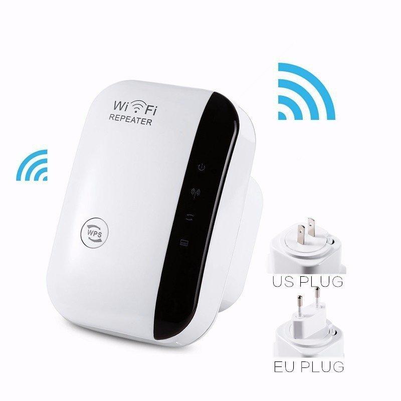 Hình ảnh Thiết bị kích sóng Wifi Repeater Wireless-N tốc độ 300 Mbps